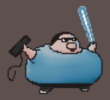 Boogie Warrior Pixels by andersonOllie