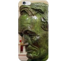 Lincoln In 1860 -- A Ford's Theater Bust iPhone Case/Skin