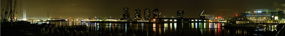 Panorama of Docklands - Melbourne by Gavan  Mitchell
