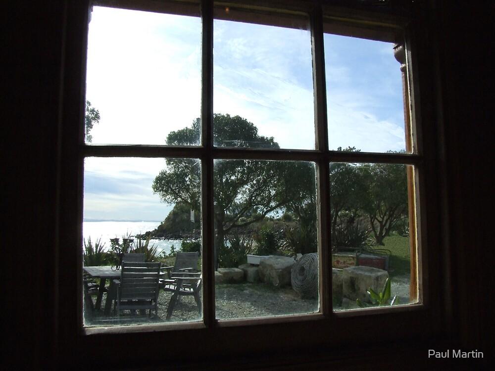 Window on the sea by Paul Martin