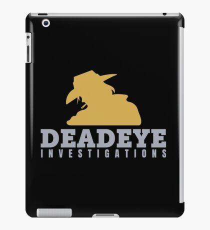 McCree's Deadeye Investigations iPad Case/Skin