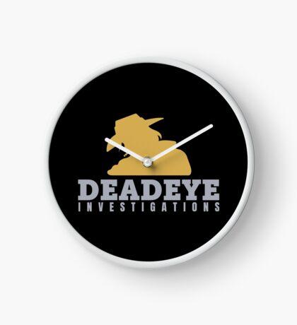 McCree's Deadeye Investigations Clock