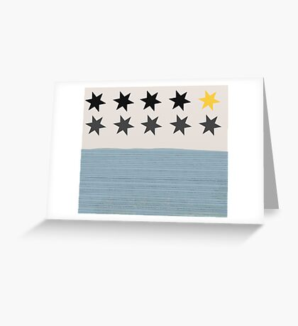 Estrellas fugaces Greeting Card