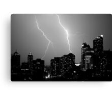 Urban Storm Canvas Print
