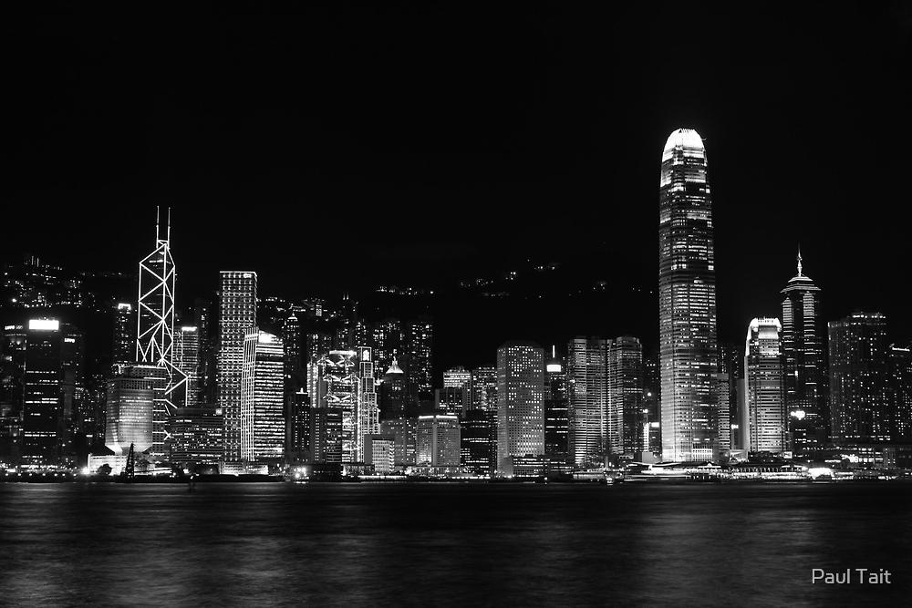 Hong Kong Skyline by Paul Tait