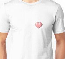 Heart Pixels Unisex T-Shirt