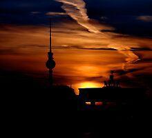 Berliner Fernsehturm (TV Tower ) by pdsfotoart