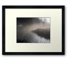 Of Fog and Frost Framed Print