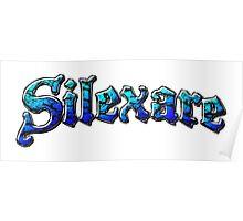 Silexare Text on White Poster