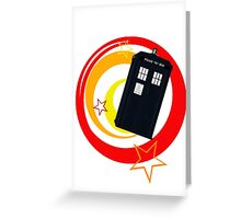 Police Box Greeting Card