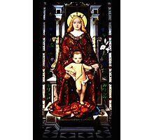 Virgin Mary Baby Jesus Photographic Print