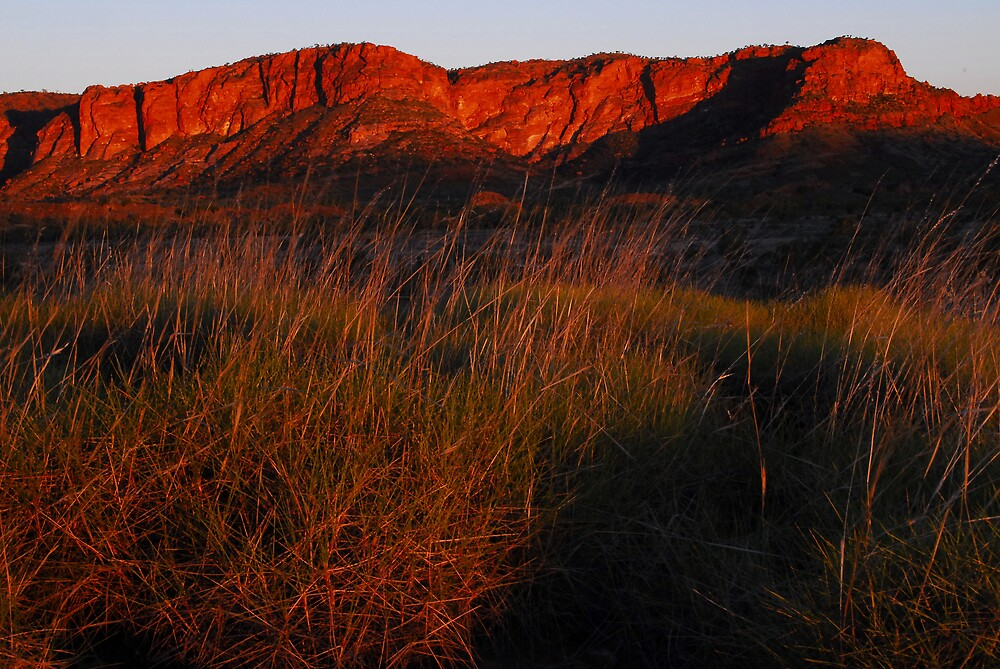 Sunset over the Bungle Bungles by chriso