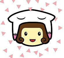 cute girl by eduwar