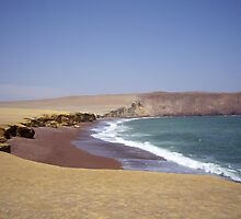 Red Beach, Pisco, Peru by Tim Robson