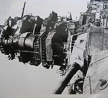 my father's photo from WW II #14 by william good