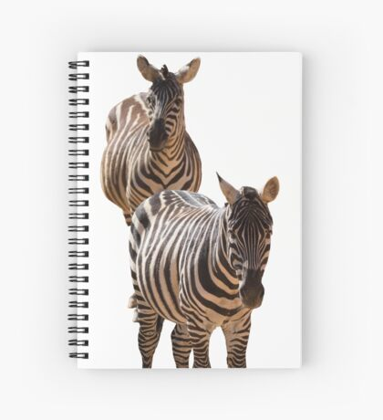 couple of zebra Spiral Notebook