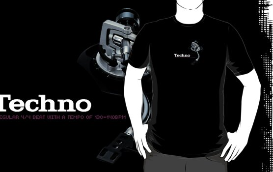 Techno by Plastica Tees