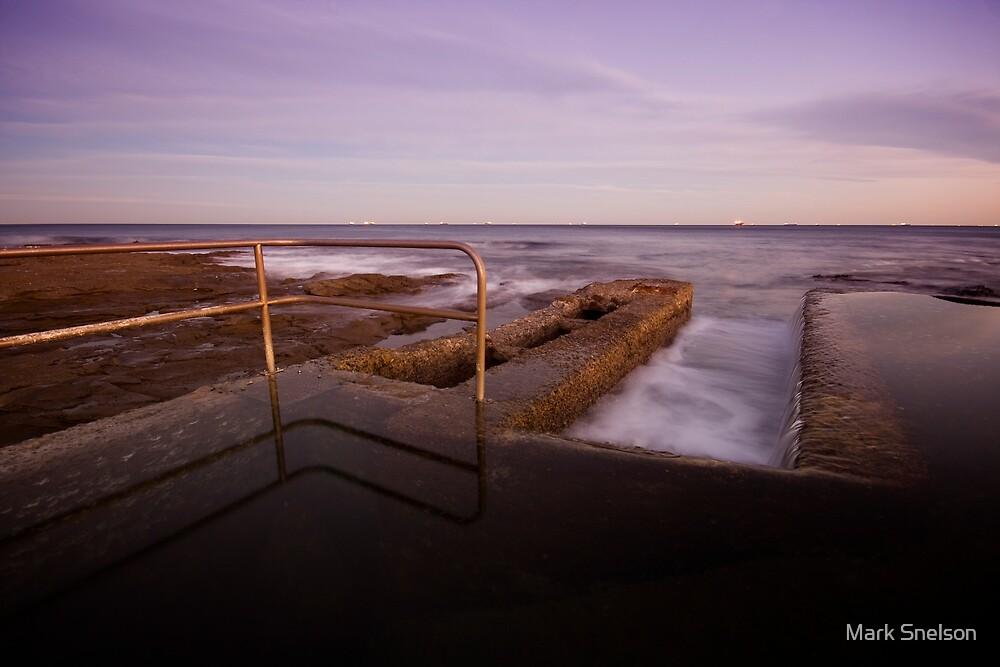 Newcastle Ocean Baths 6 by Mark Snelson