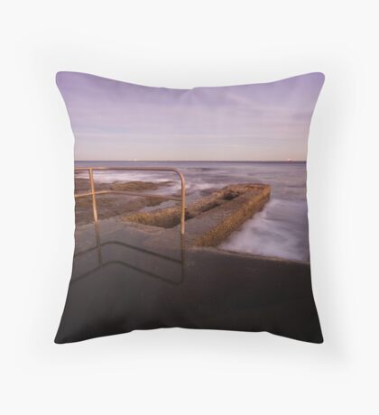 Newcastle Ocean Baths 6 Throw Pillow