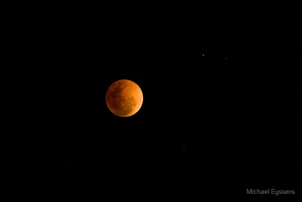 Lunar Eclipse by Michael Eyssens