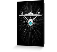 Warp Speed! Greeting Card