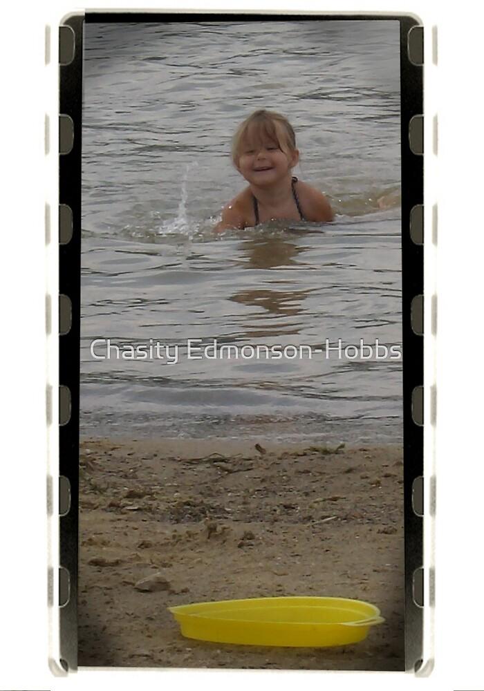 Jayden @ the beach! by Chasity Edmonson-Hobbs