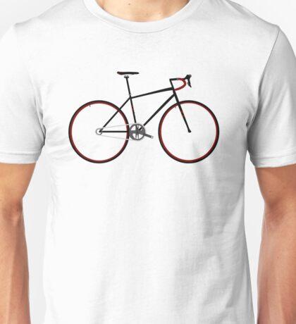 Road Bike red Unisex T-Shirt