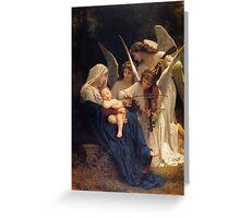 Baby Jesus Sleeping Greeting Card