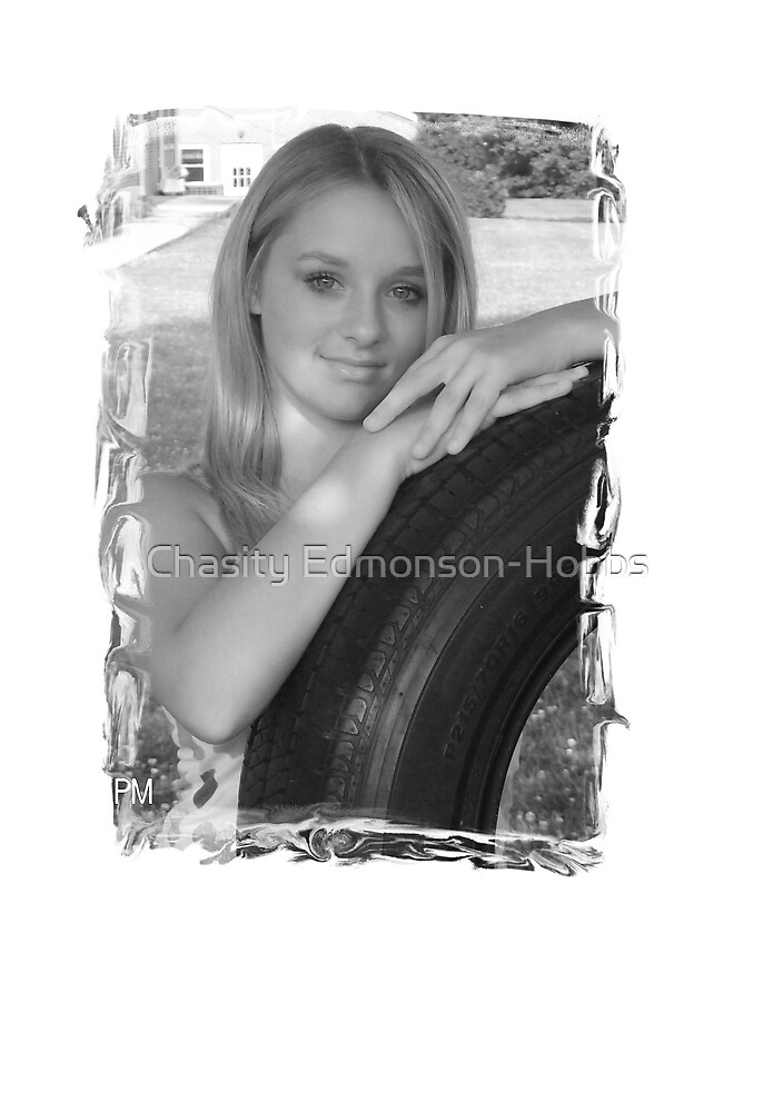 Brooke and tire swing by Chasity Edmonson-Hobbs