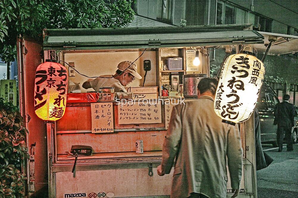 Tokyo Street Vendor by sparrowhawk