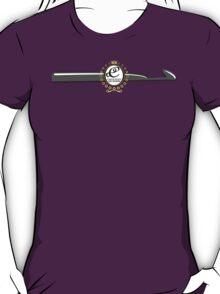 CROCHET QUEEN CROCHET HOOK MONOGRAM T-Shirt