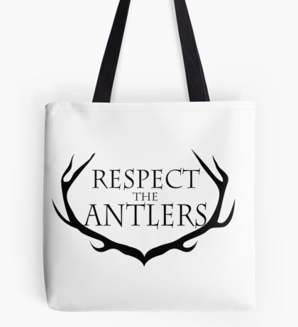Respect the Antlers Tote Bag