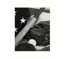 American Pastime Art Print