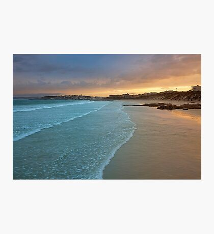 sunrise over langebaan Photographic Print