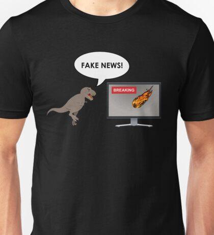 Fake News - Dinosaur Unisex T-Shirt