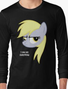 I can see everything - Derpy hooves Long Sleeve T-Shirt
