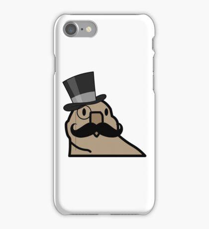 Old Timey - Gentleman Parrot iPhone Case/Skin