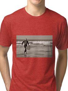 Surfs Up; even in November Tri-blend T-Shirt