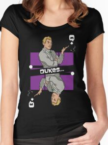 Queen Of Dukes Women's Fitted Scoop T-Shirt