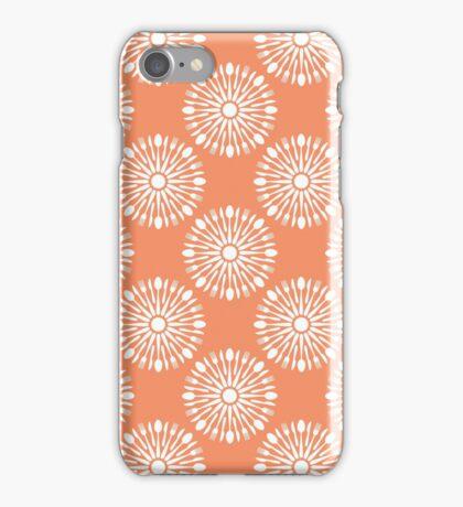 Kitchen orange silverware iPhone Case/Skin