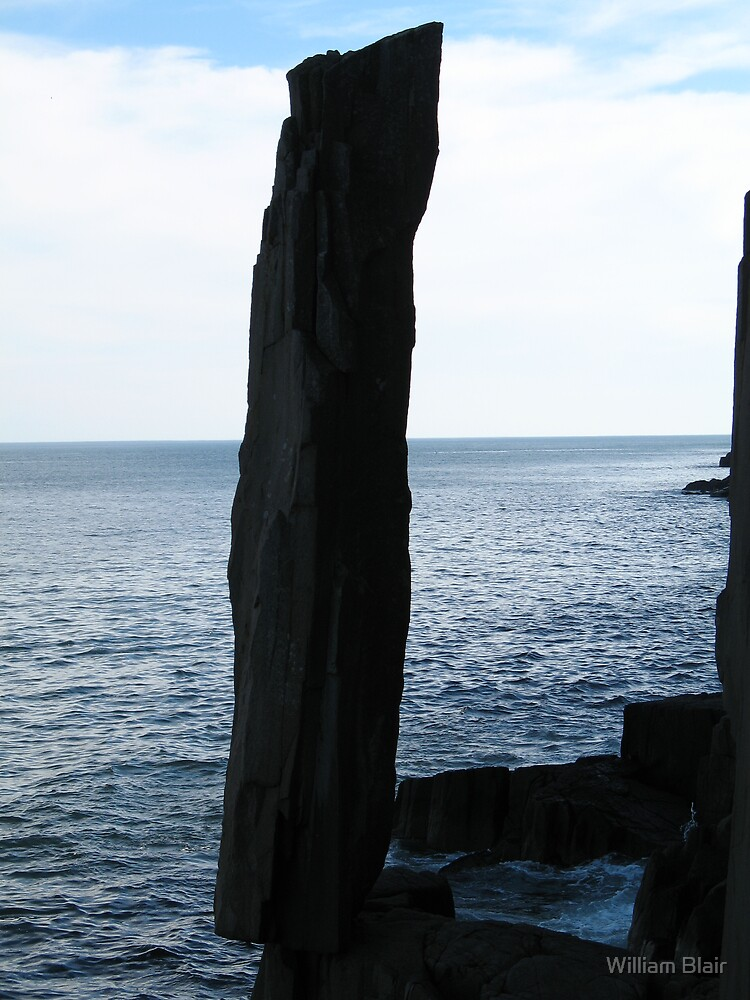 Balancing Rock, NS by William Blair