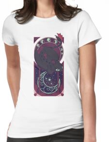 Art of the Night Womens Fitted T-Shirt