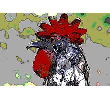 rooster craft Photographic Print