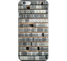 Garamond iPhone Case/Skin