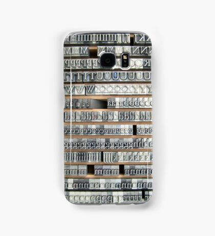 Garamond Samsung Galaxy Case/Skin
