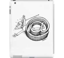 Old age and internet iPad Case/Skin