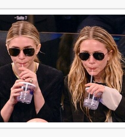 Mary Kate and Ashley Sticker