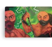 The Stinging Storm (Centipede and Scorpion) Canvas Print