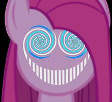 Pinkie Pie - The Smiler Blue by Truly Horrifying