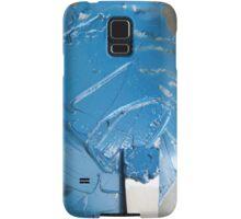 Blue Ink - Letterpress Printing Samsung Galaxy Case/Skin